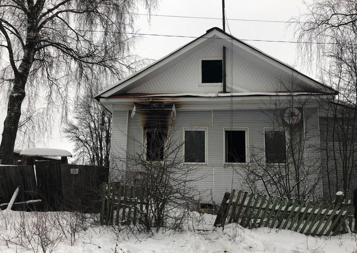 На пожаре в Тверской области погибла пожилая женщина - новости Афанасий