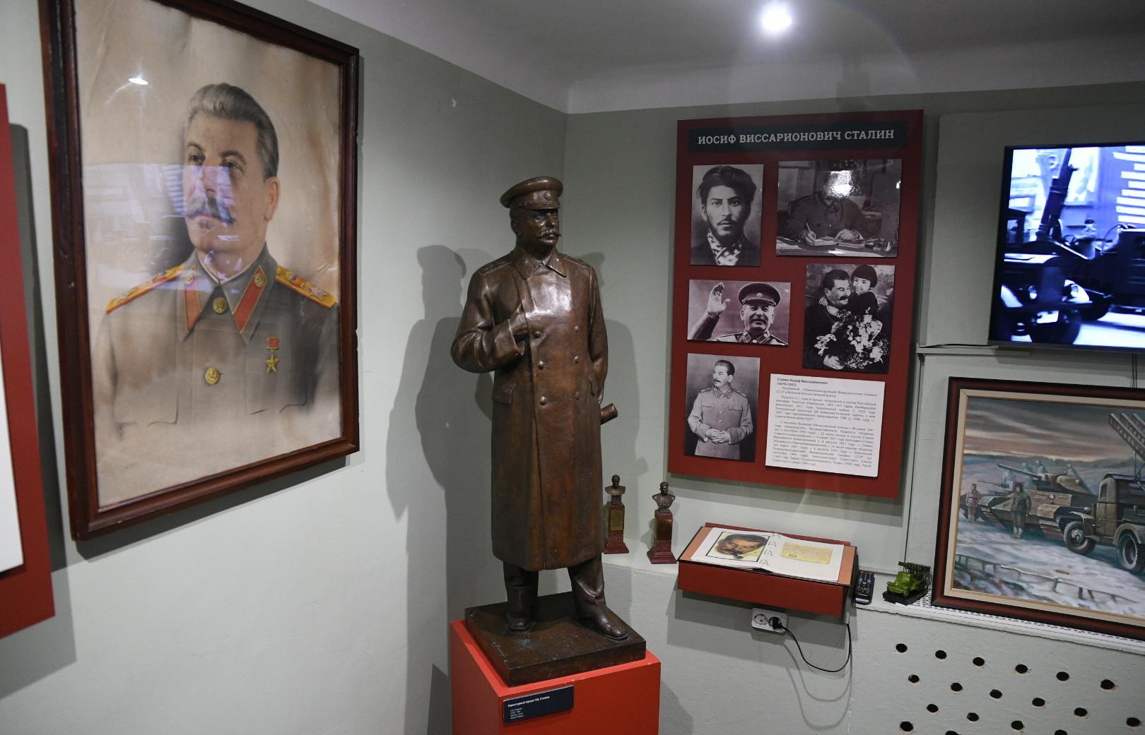 Высокопоставленные гости Ржева посетили Музей Сталина  - новости Афанасий