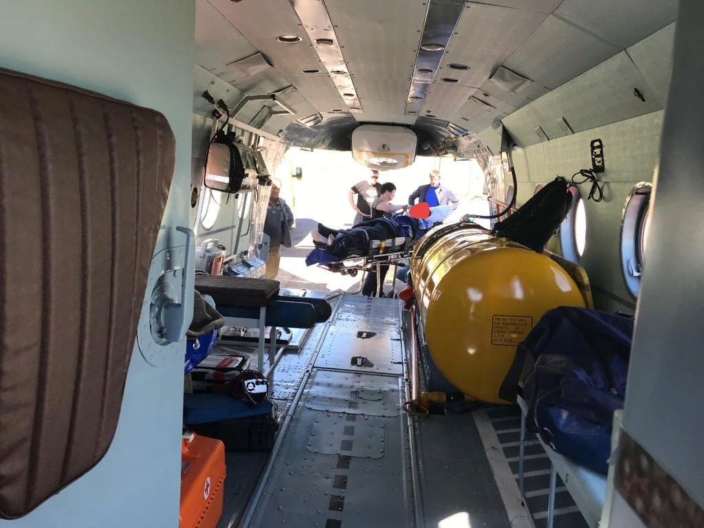 В Тверской области в помощь санавиации потребовалась трем пациентам больницы Бежецка