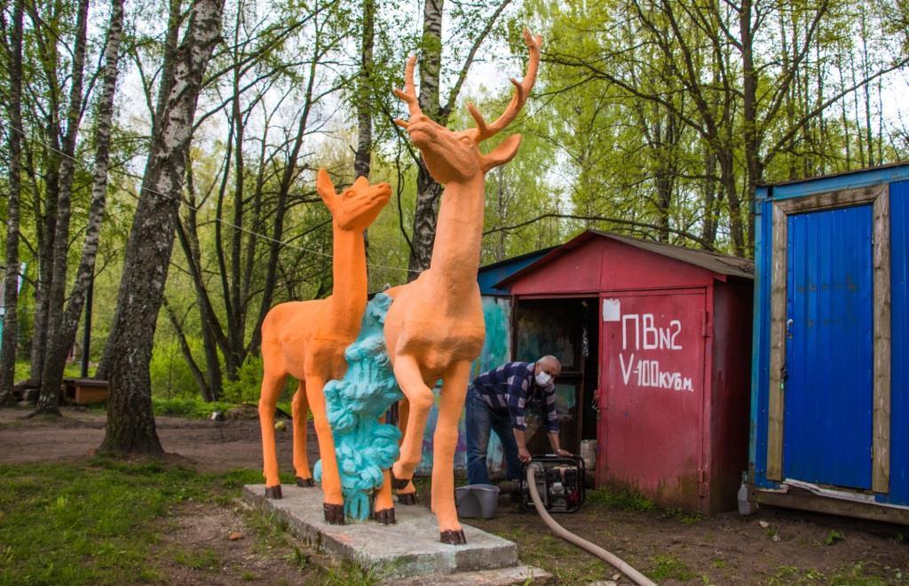 Пожарные проверяют загородные лагеря Тверской области перед началом сезона - новости Афанасий