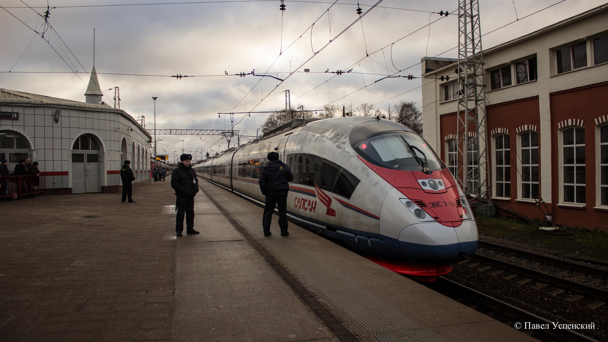 На станции Тверь подросток получил травму, спрыгнув с «Сапсана»