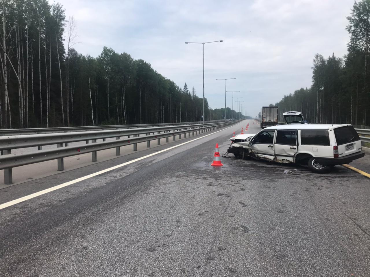 В Тверской области водитель уснул за рулем и разбил машину, которую купил пару дней назад