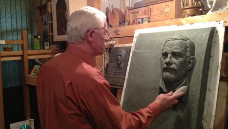 Мемориальная доска тверскому писателю и краеведу Владимиру Исакову будет выполнена в виде старинного свитка