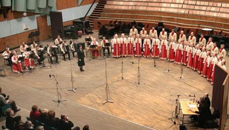 6 мая в Твери выступает академический хор «Песни России», созданный в победном 1945 году