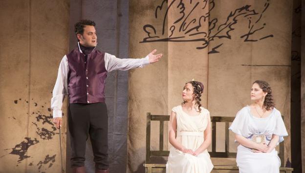 Театр драмы завершил 273-й сезон спектаклем «Пушкин. Евгений Онегин»