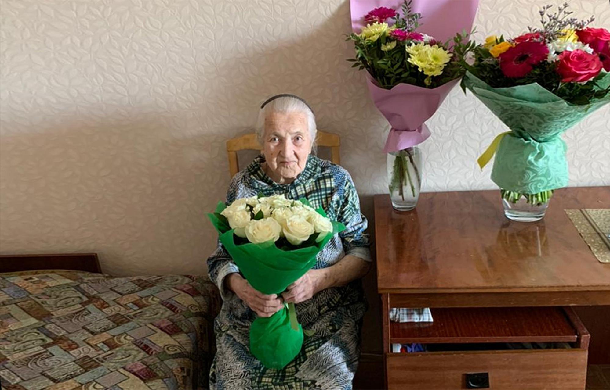 Столетие отмечает ветеран Великой Отечественной войны Александра Федоровна Громова
