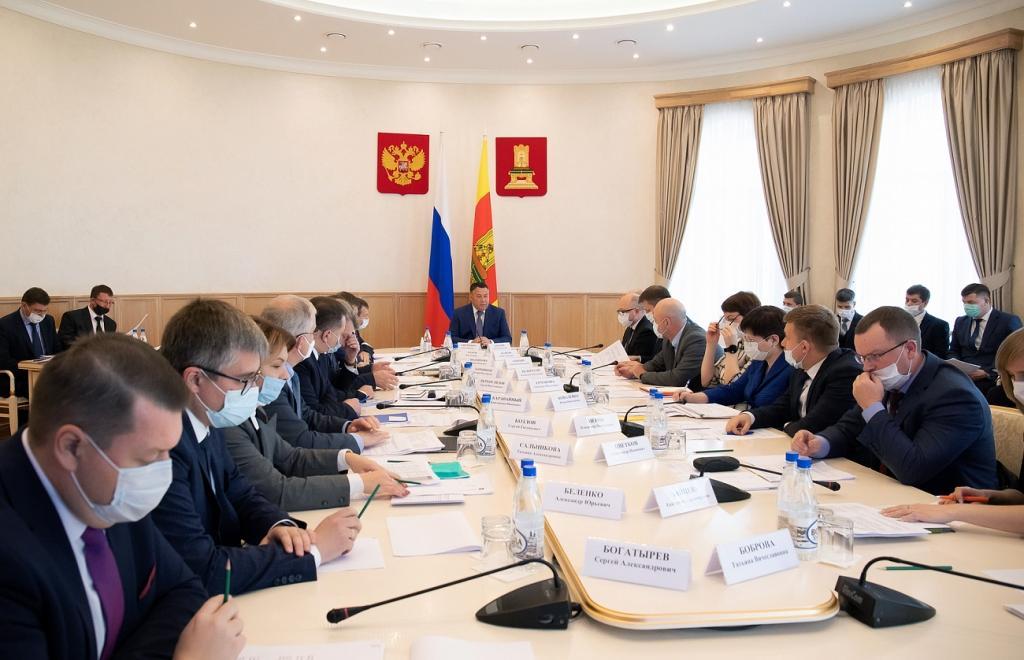 Игорь Руденя провел совещание по вопросам деятельности правительства Тверской области - новости Афанасий