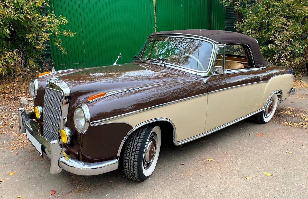 В Твери продают раритетный Mercedes за 14,6 млн рублей - новости Афанасий