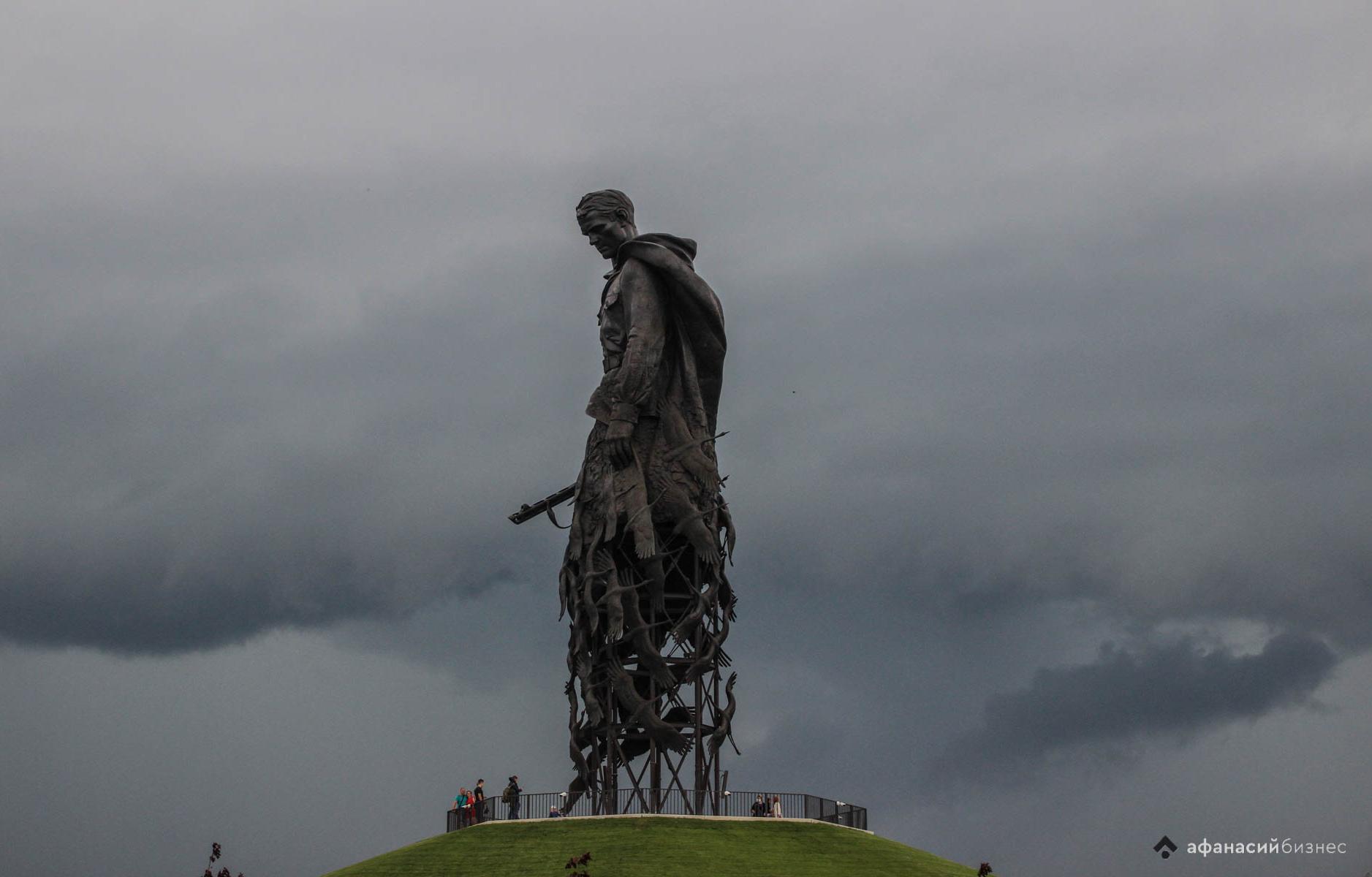 Ржевский мемориал Советскому солдату за два дня посетили более 12 тысяч человек - новости Афанасий