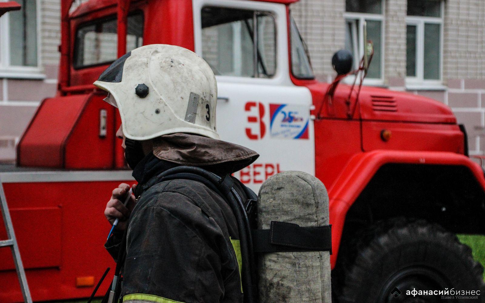 В Заволжском районе Твери горит жилой дом - новости Афанасий