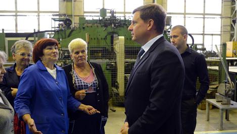 Андрей Епишин посетил промышленные предприятия Кимрского района