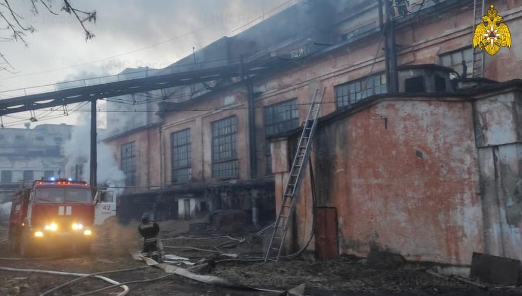 Пожар в Нелидово Тверской области тушили четыре часа - новости Афанасий