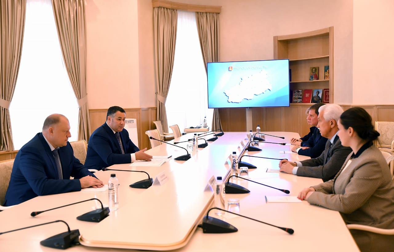 Губернатор Игорь Руденя провел встречу с сенаторами и депутатами, представляющими в российском парламенте Тверскую область - новости Афанасий