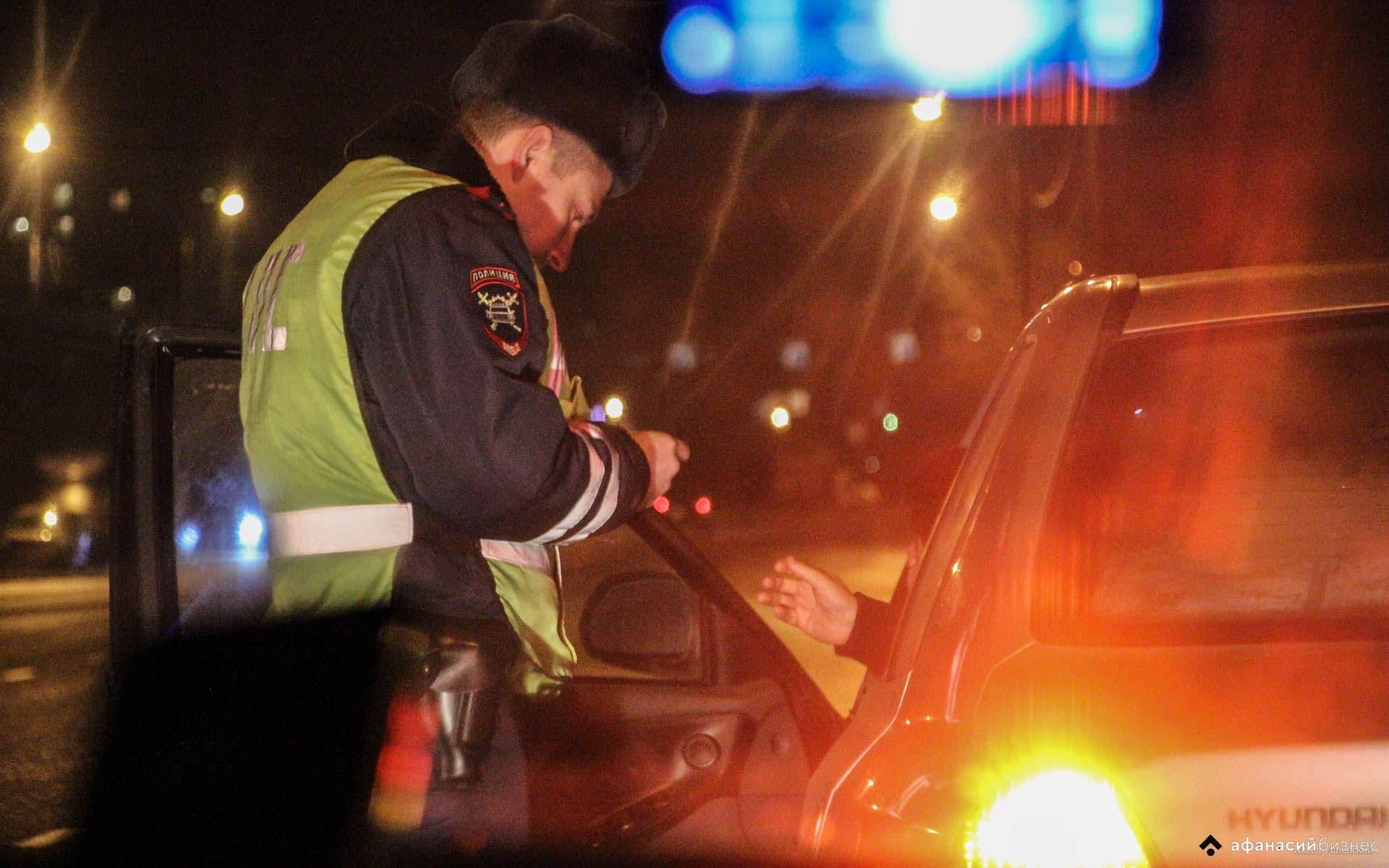 За сутки на дорогах Тверской области поймали 24 пьяных водителя и еще полсотни других нарушителей