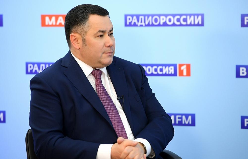 Игорь Руденя в прямом эфире расскажет о ситуации с коронавирусом - новости Афанасий