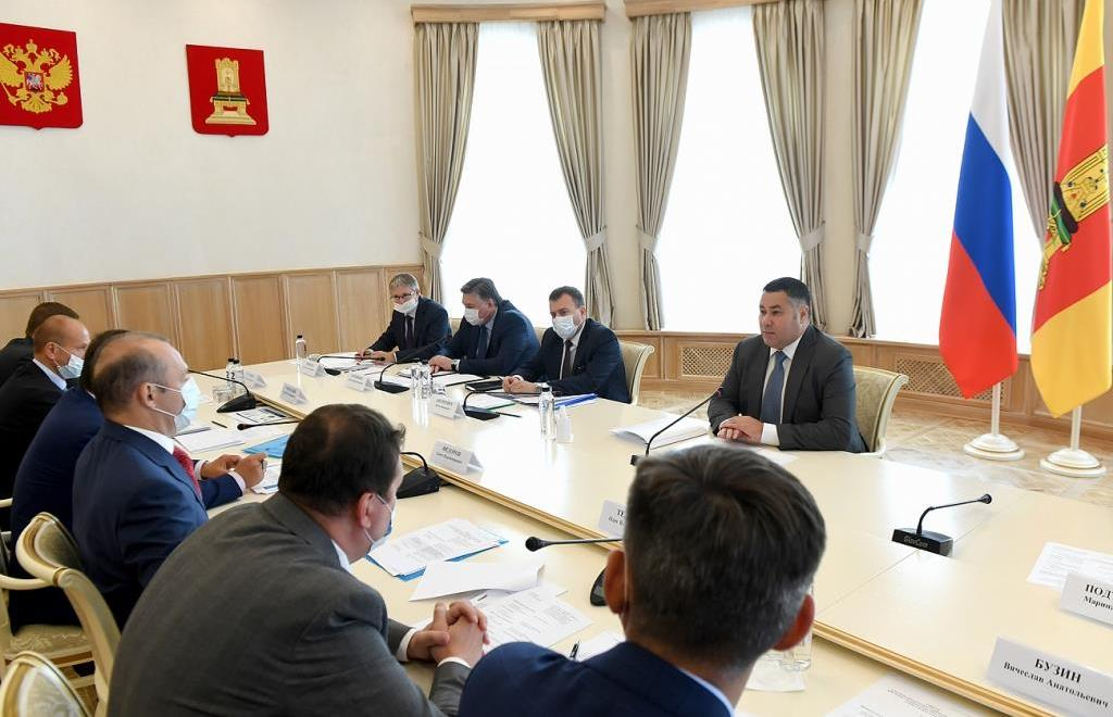 «Газпром» и власти Тверской области планируют модернизировать систему теплоснабжения Твери - новости Афанасий
