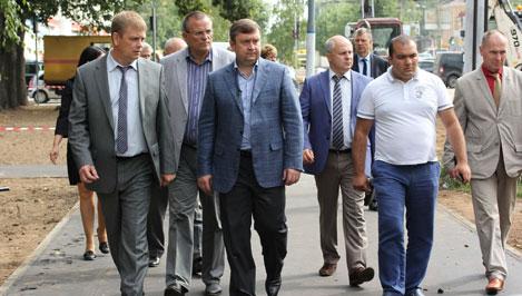 Накануне 1 сентября Андрей Шевелев проверил безопасность территорий около тверских школ