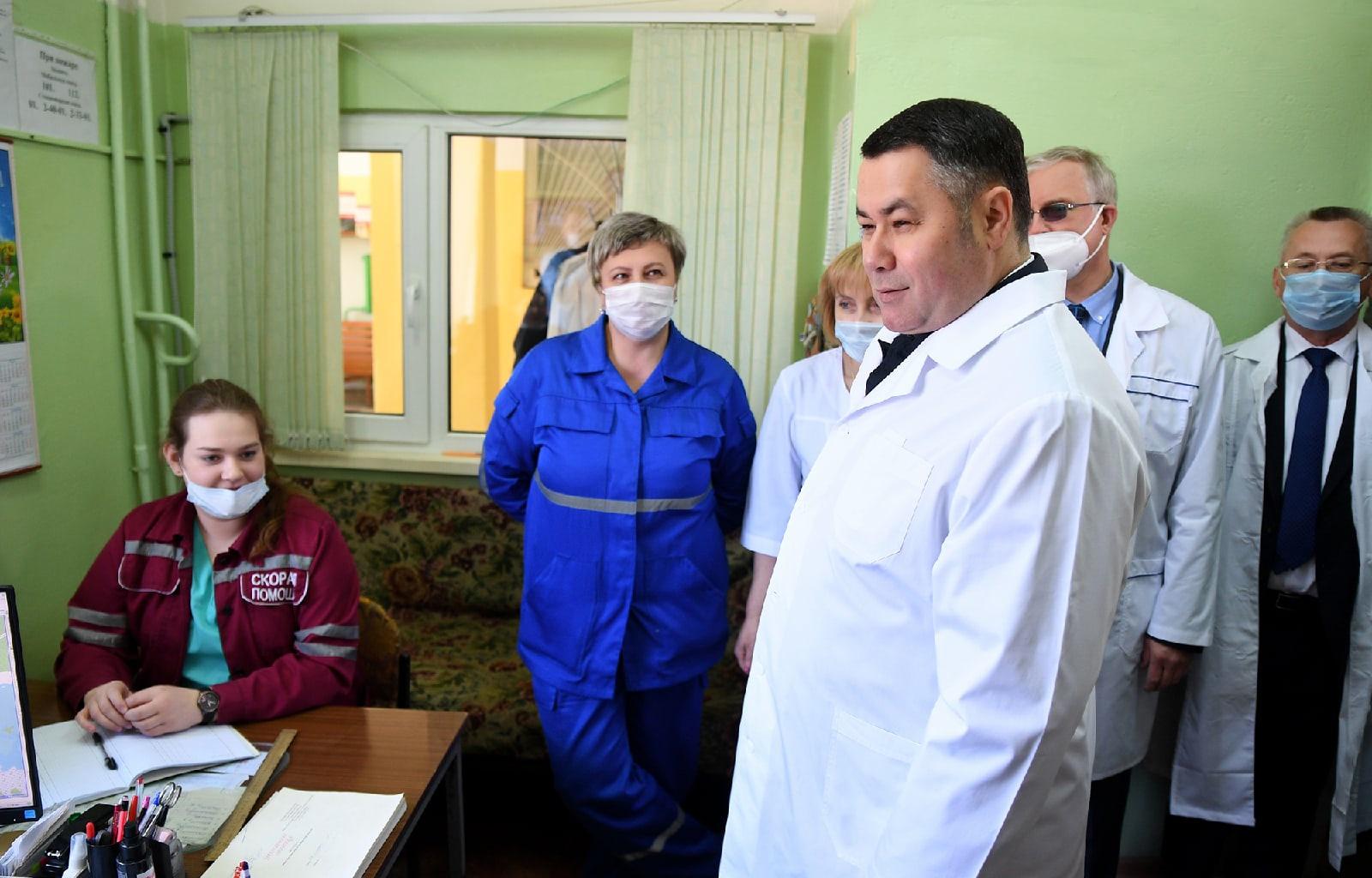 В Пеновской центральной районной больнице продолжится ремонт и оснащение современным оборудованием - новости Афанасий