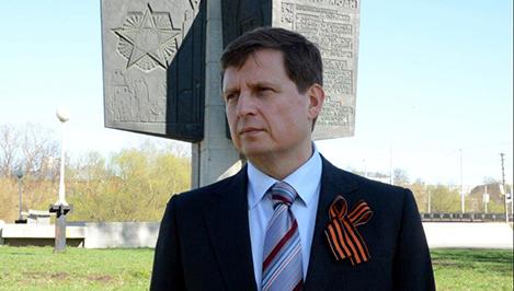 Жителей Тверской области с Днем Победы поздравляет председатель Законодательного Собрания Андрей Епишин