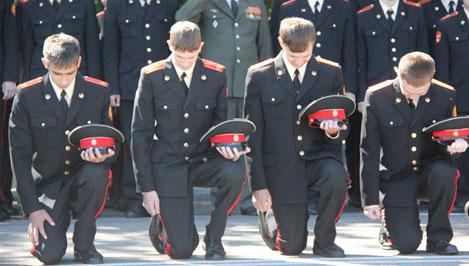 Тверское суворовское военное училище отмечает 69-ю годовщину со Дня основания
