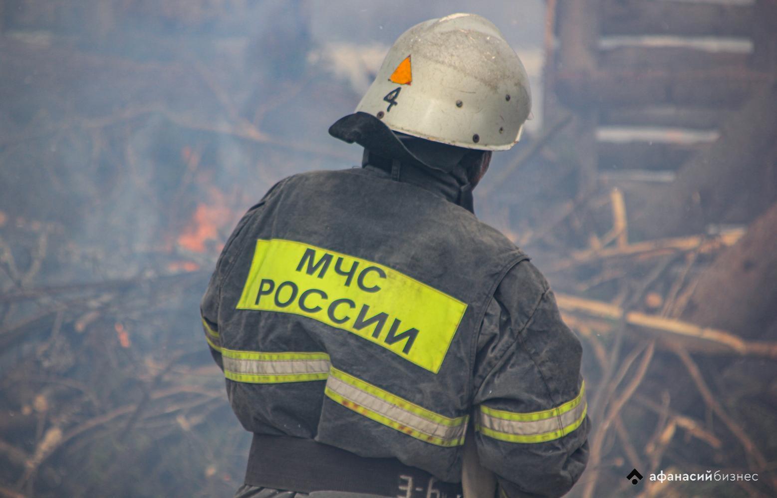 В Тверской области пожарные спасли мужчину из горящей квартиры - новости Афанасий