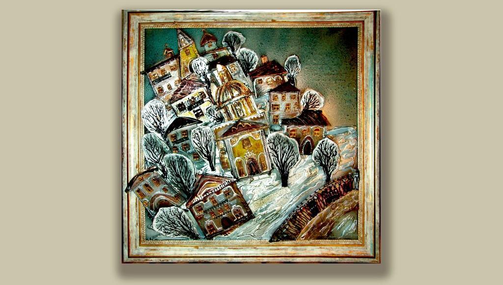 Уникальные объемные витражи Елены Буровой представят на выставке в Твери - новости Афанасий