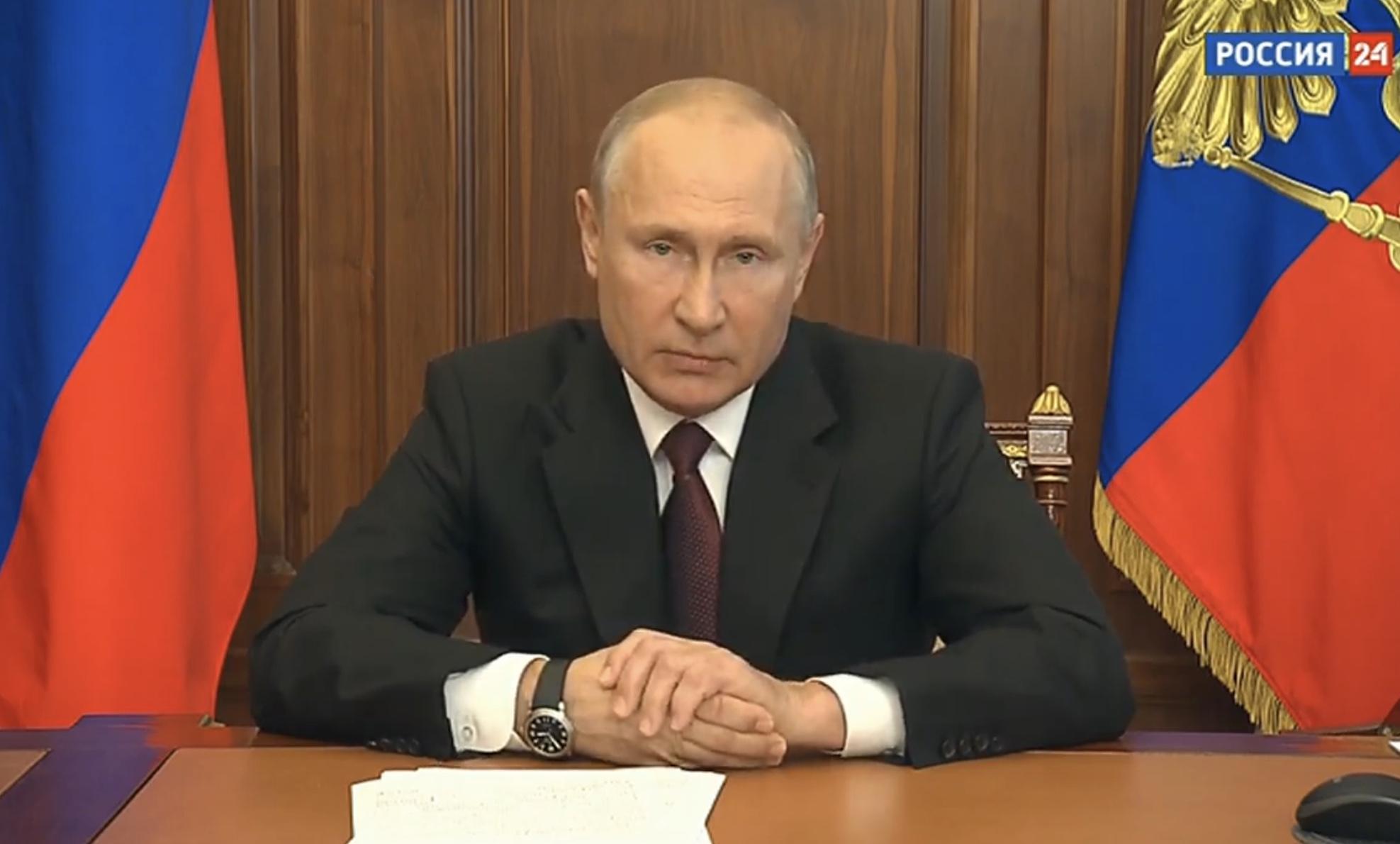 Владимир Путин вновь выступит с телеобращением к гражданам - новости Афанасий