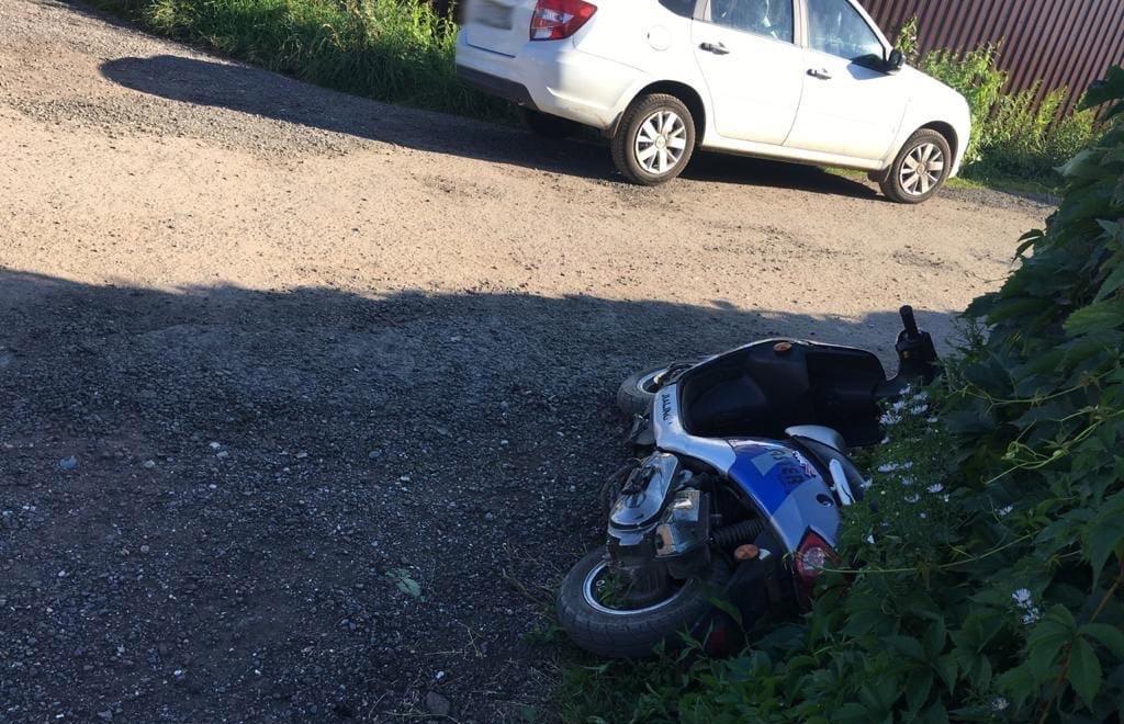В Тверской области подросток на скутере устроил ДТП - новости Афанасий
