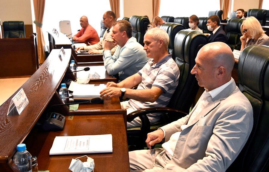 Состоялось заседание комитета по госустройству и местному самоуправлению