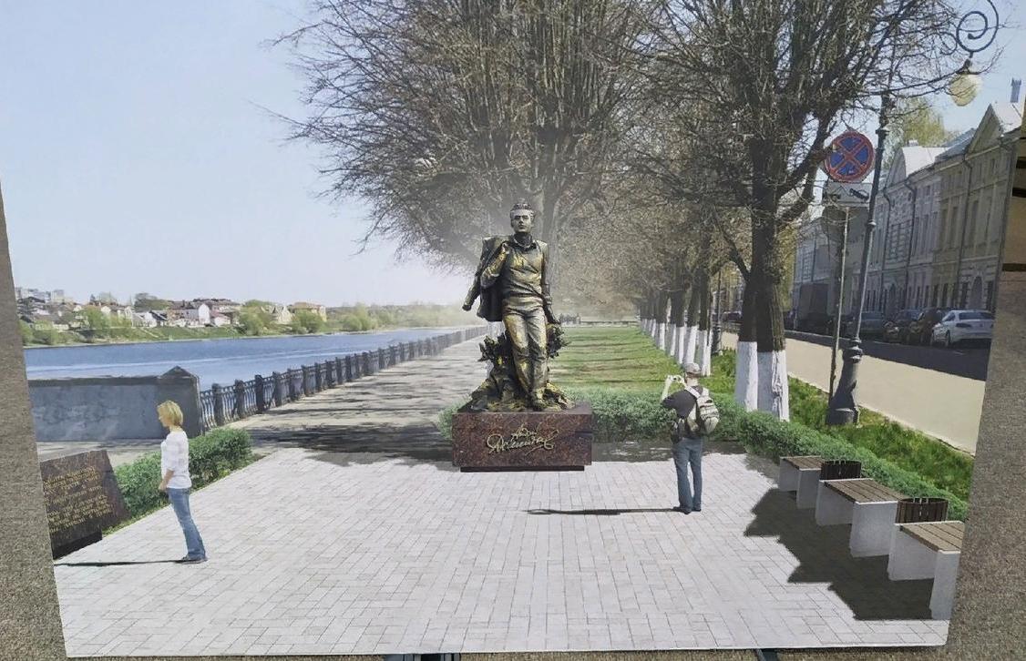 Памятник Андрею Дементьеву появится в Твери в 2021 году  - новости Афанасий