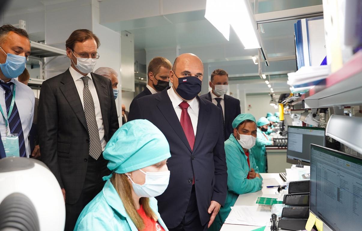 Премьер-министр России Михаил Мишустин высоко оценил разработки и производственный потенциал Промтехнопарка КСК в Твери
