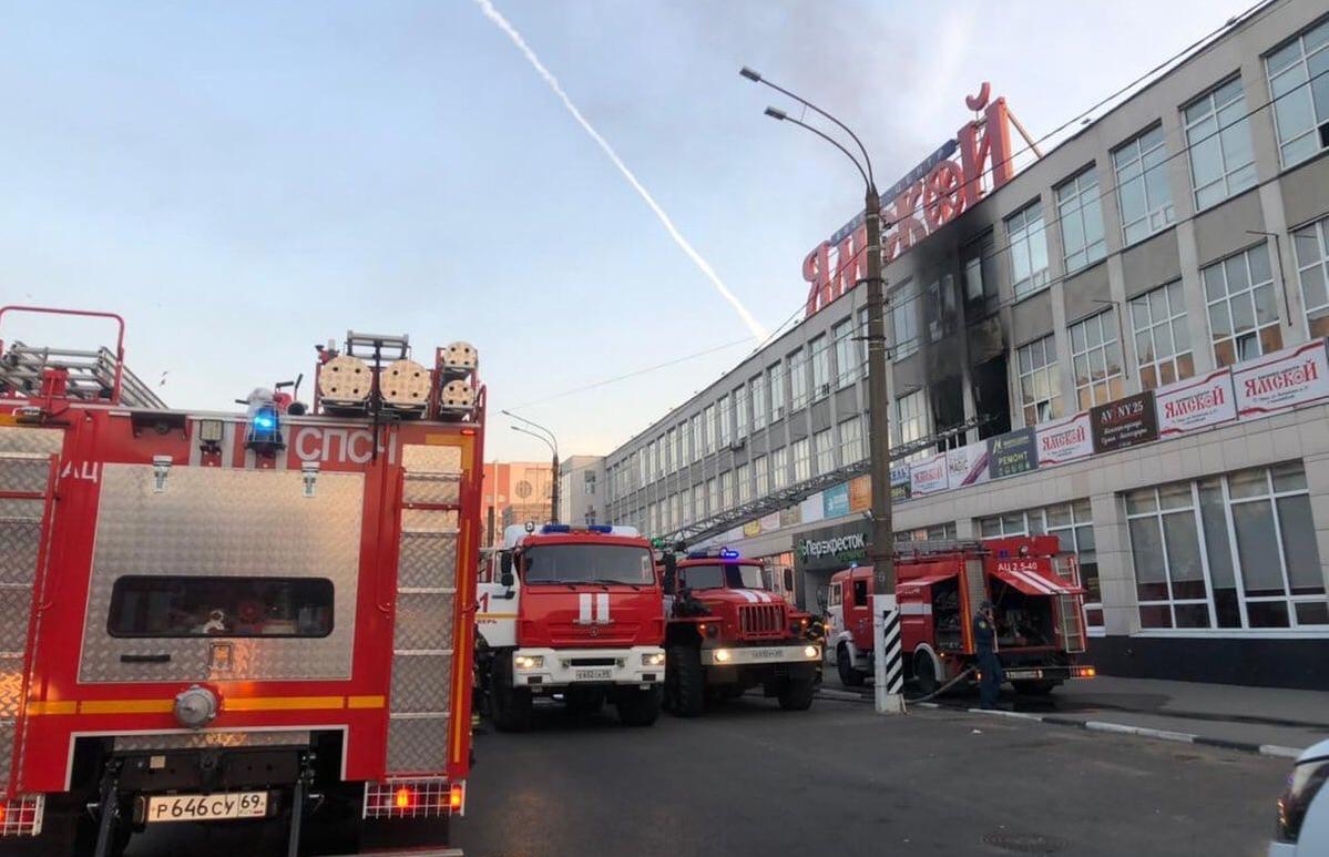 Вакцинальный пункт возобновит работу после пожара в БЦ «Ямской» - новости Афанасий