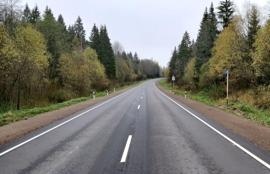 В Тверской области сдан еще один отремонтированный участок дороги «М9»-Андреаполь-Пено-Хитино - новости Афанасий