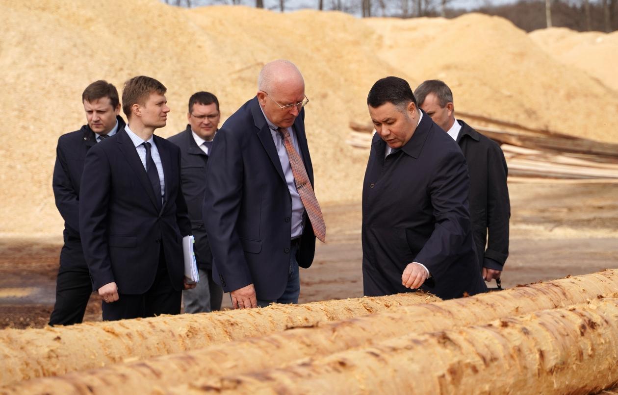 В Тверской области по инициативе Игоря Рудени введут новые меры поддержки лесопромышленной отрасли - новости Афанасий
