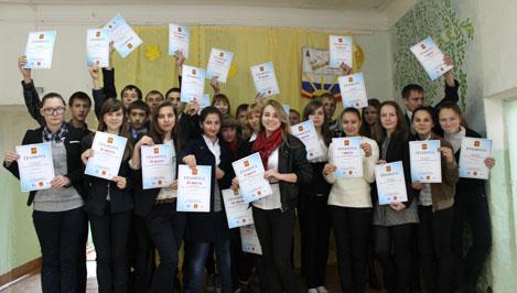 Ржевские школьники учились продавать самолеты