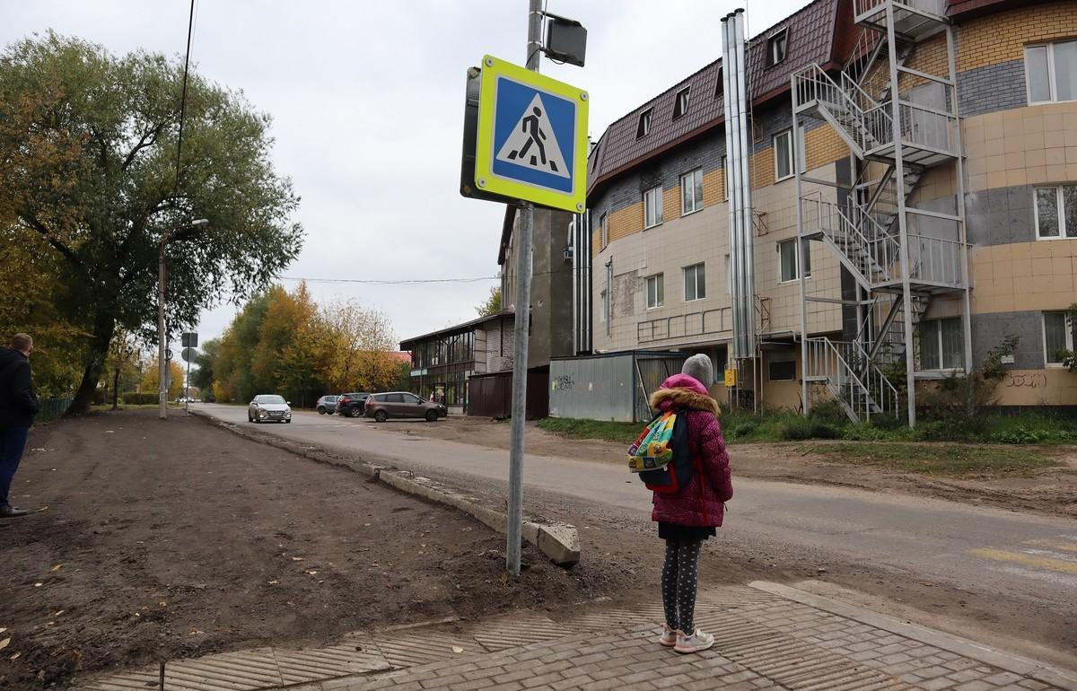 В Твери обочину на пути к школе № 31 сделали безопасной - новости Афанасий
