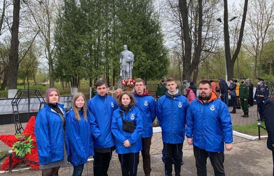 Студенты ТвГТУ приняли участие в мероприятиях ко Дню Победы