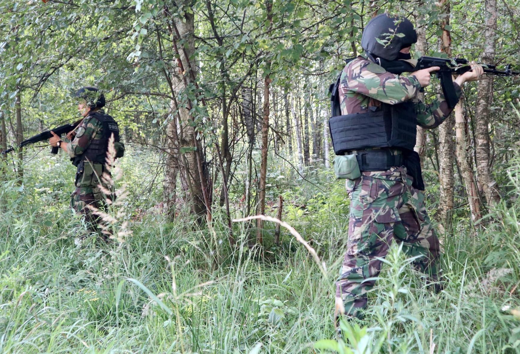 Под Тверью прошли тактические учения бойцов спецназа