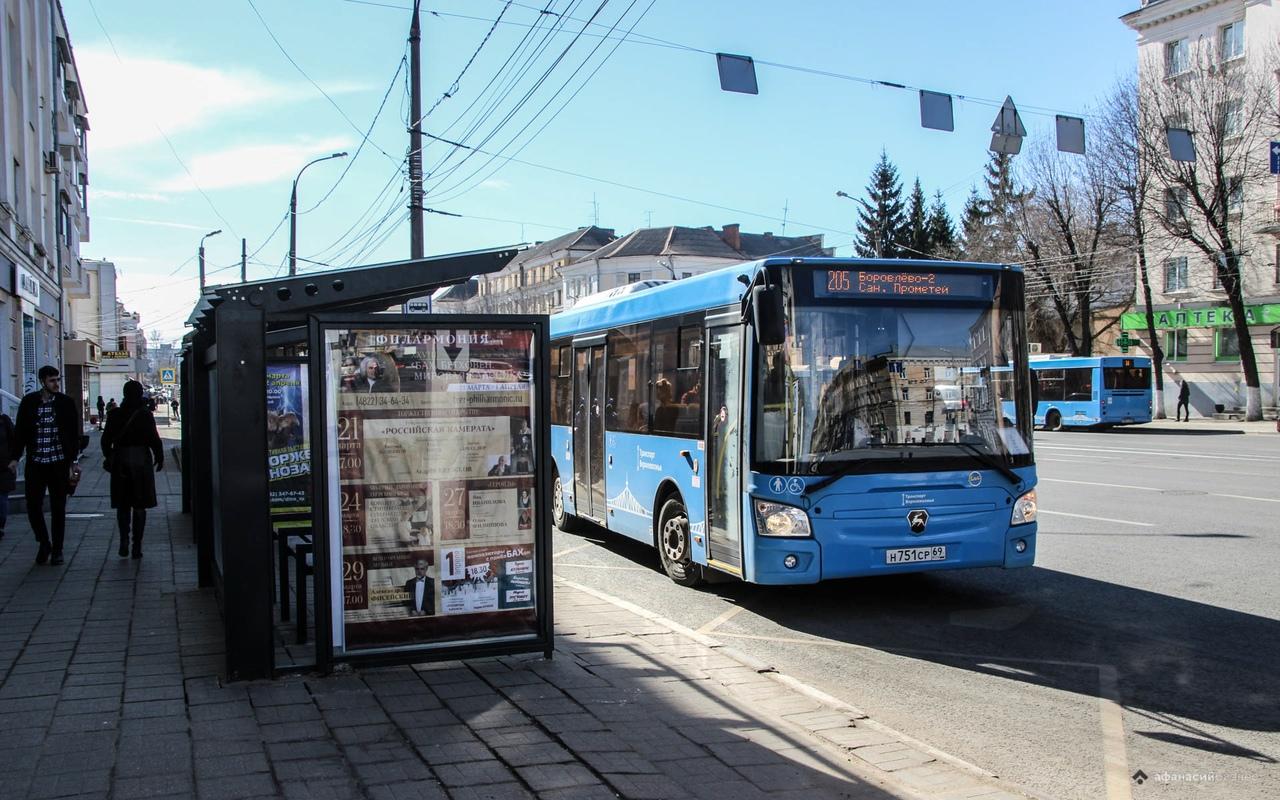 Тверские автобусы оснастят тревожными кнопками - новости Афанасий