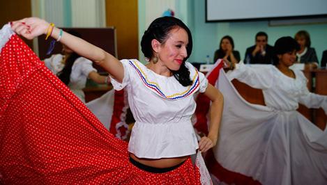 В Твери открылся I Латиноамериканский фестиваль