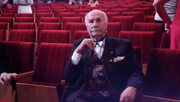 Актер театра и кино Владимир Зельдин отмечает 100-летний юбилей