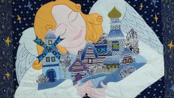 В Кимрском районе Тверской области создали «Полотно мира». Над ним трудились 200 человек