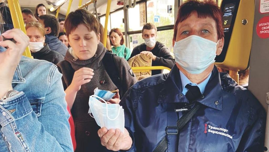 В Тверской области соблюдение масочного режима проверяют в транспорте и торговых точках - новости Афанасий
