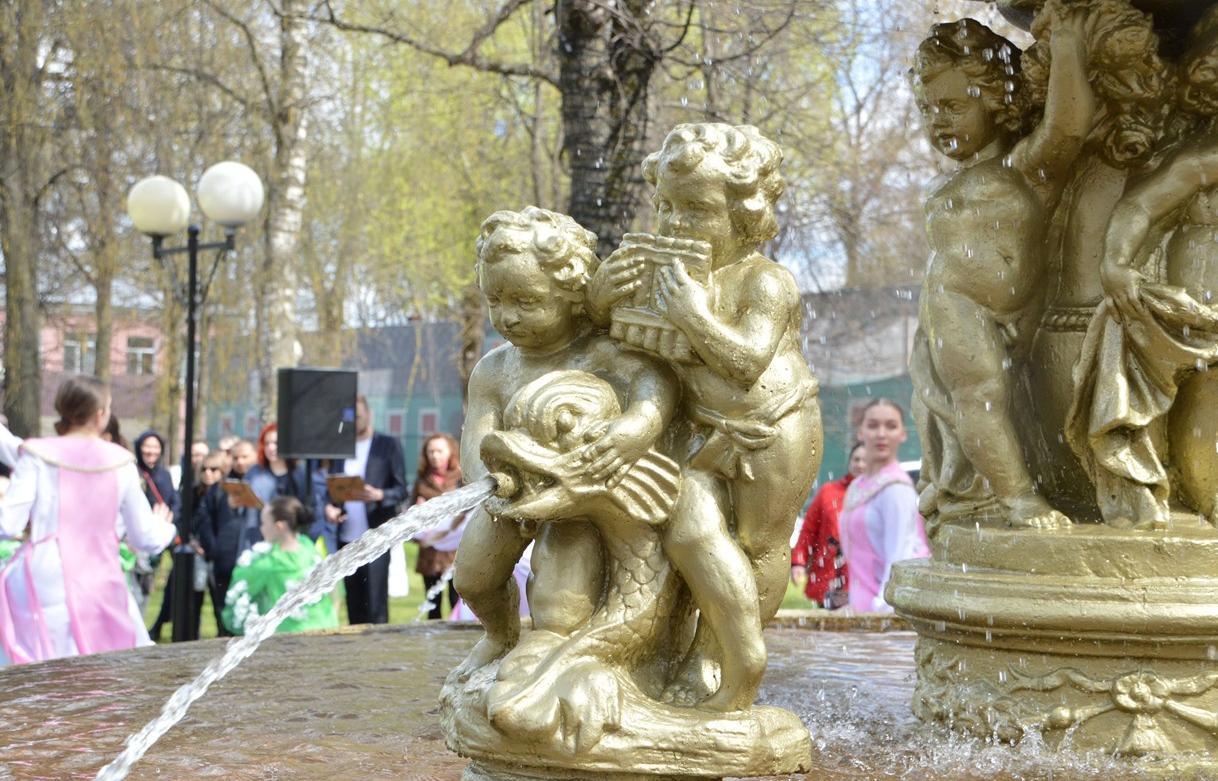 В Твери начали работу фонтаны - новости Афанасий