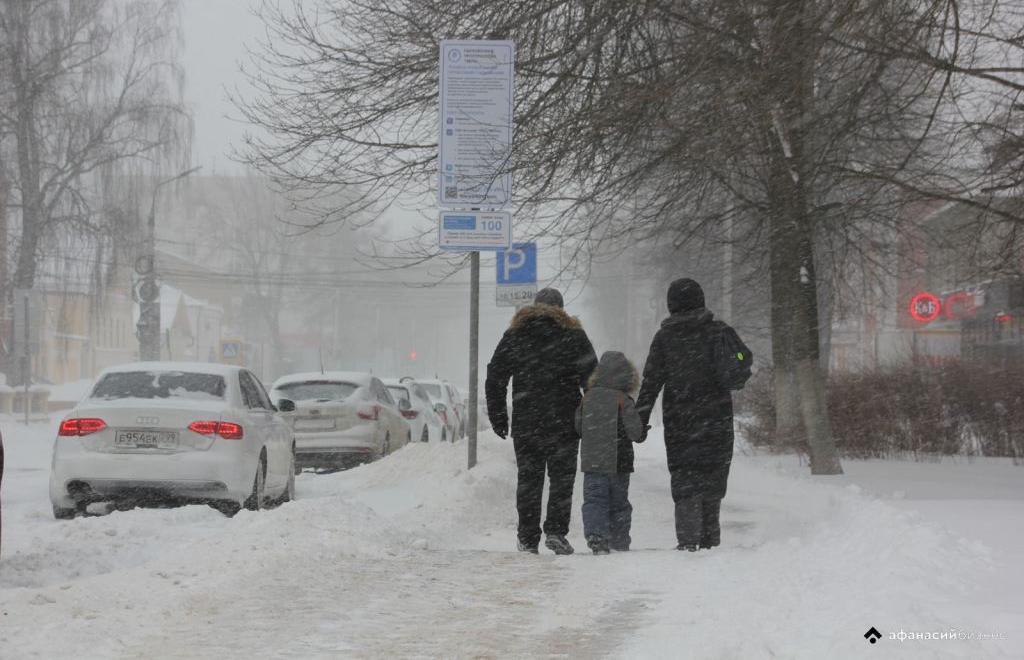 В Тверской области ожидается сильный снегопад