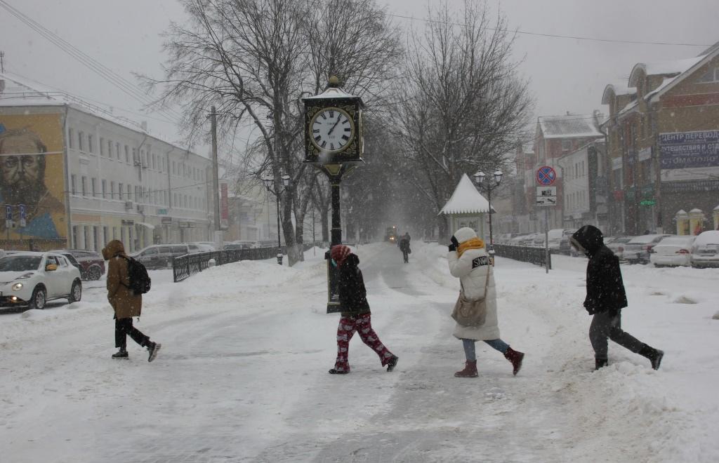 Зима вернется на один день в Центральную Россию