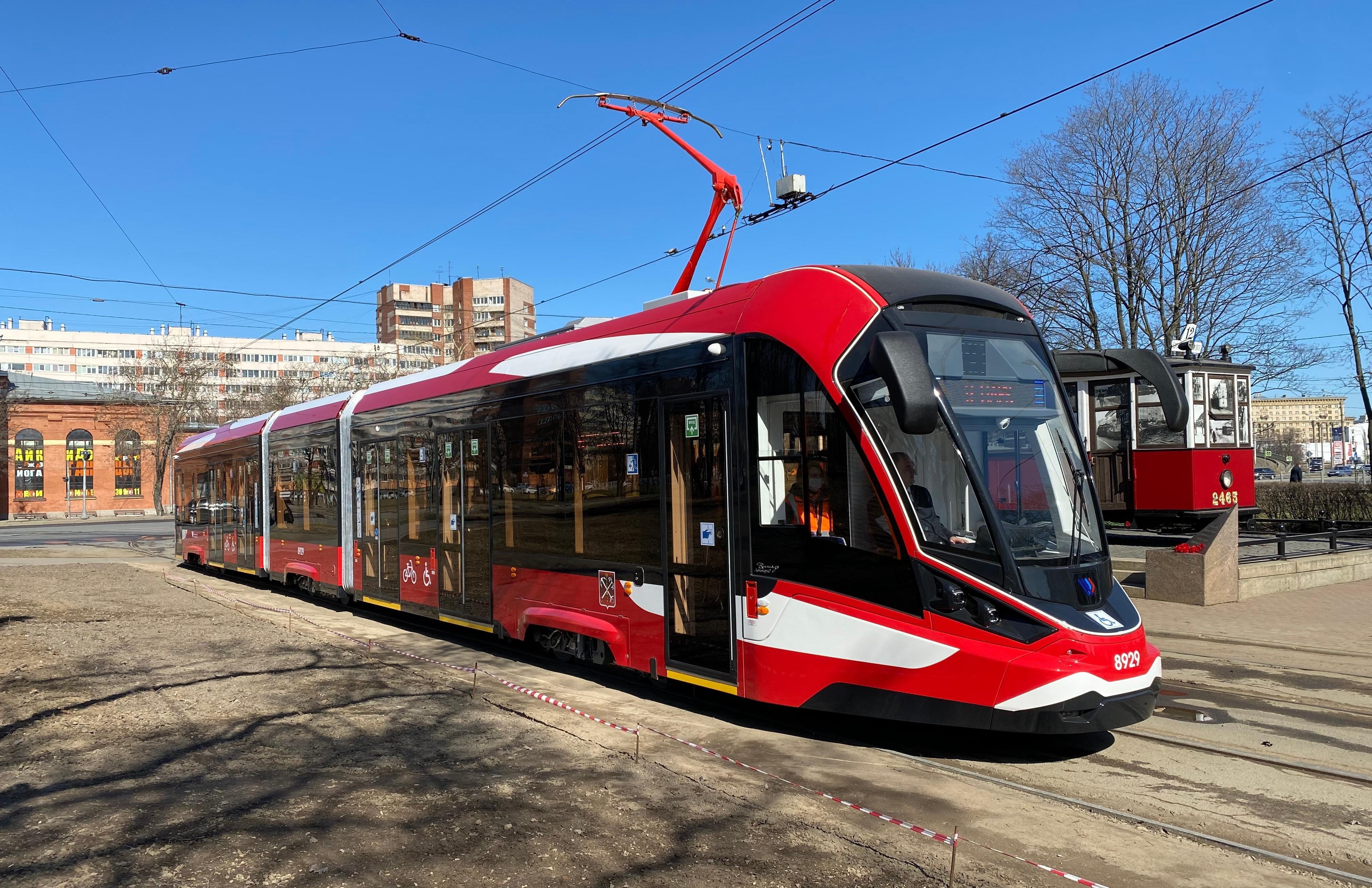 Сверхлегкий трамвай производства Тверь – Санкт-Петербург вышел в первый рейс - новости Афанасий