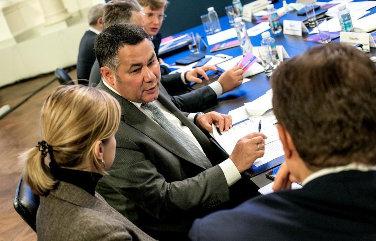 Губернатор Игорь Руденя принял участие в подготовке к заседанию Президиума Госсовета РФ - новости Афанасий