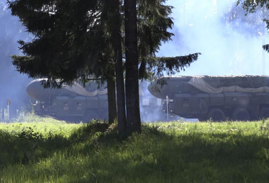 Пусковые установки «Тополь» вышли на боевое патрулирование в Тверской области