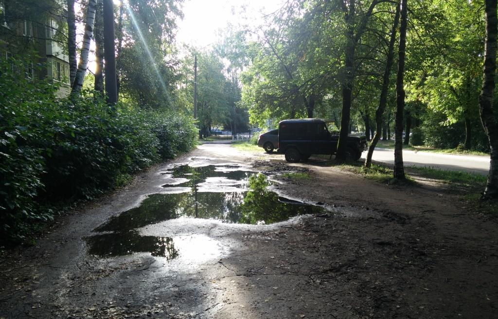 В Твери у школы №44 делают пешеходную дорогу, которую не ремонтировали более 20 лет - новости Афанасий